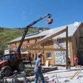 Heilbronner Hütte in neuem Gewand