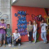 Graffiti-Kunst und wie sie Akzeptanz erfährt – ein Beispiel aus Rankweil