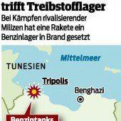 Tripolis stürzt ins Chaos