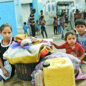 Panik im Gazastreifen