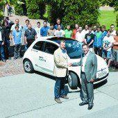 Elektroauto für HTL-Schüler