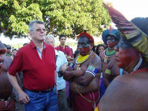 Erwin Kräutler setzte sich unermüdlich für die Rechte der indigenen Bevölkerung am Amazonas ein.