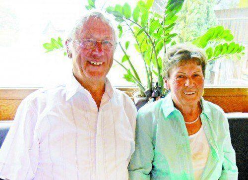 Gemeinsam genießen sie den Ruhestand. fotos: privat