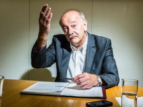 Selbst STRUMA-Chef Hans Bertsch kann sich nicht an so ein Urteil erinnern. miro