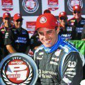 Montoya mit Erfolg in der Indy-Cart-Serie