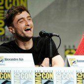 Radcliffe inkognito als Spider-Man auf Messe