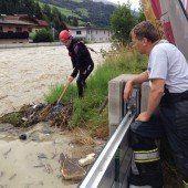Burgenland unter Wasser: Regenrekord