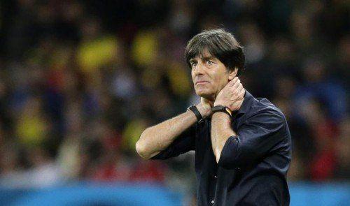 Joachim Löw hat noch einen Vertrag bis 2016 beim DFB. Foto: ap