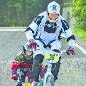 Titelkämpfe der BMX-Fahrer