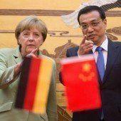 Merkels China-Besuch bringt Milliarden