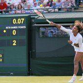 Serena Williams bizarrer Abschied