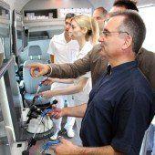 Mobile Trainingsstation für Ärzte