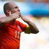 Arjen Robben lobt Coach Luis van Gaal