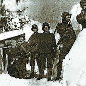 Schneemassen setzten Bezauer Soldaten zu