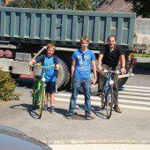 Investitionen und Initiativen für Radfahrer