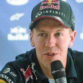 Vettel lächelte die Gerüchte weg