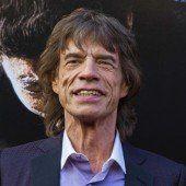 Mick Jagger fand Trost bei Enkel und Urenkelin