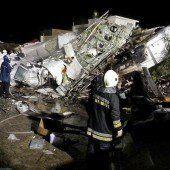 Taifun in Taiwan: 47 Tote nach Notlandung