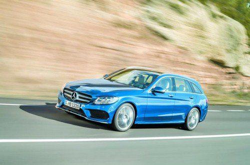 Neues C-Klasse-T-Modell zu Preisen ab 37.780 Euro. Foto: werk