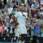 Rafael Nadal scheiterte an der Nummer 144 der Welt