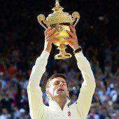 Djokovic triumphiert in Beckers Wohnzimmer