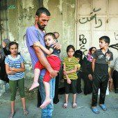 Palästinensern bleibt nur die Flucht