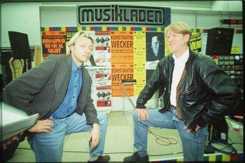 Peter Assion (l.) und Edi Stöhr anno 1996. 18 Jahre später kehren beide wieder ins Reichshofstadion zurück. Foto: Kuzmanovic