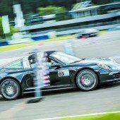 Wenn Porsche-Fahrer plötzlich flüchten müssen