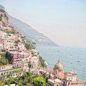 Luxuriöses und steiles Positano
