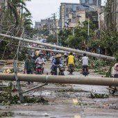 Taifun hinterlässt Verwüstung