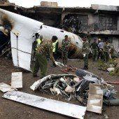Frachtflugzeug abgestürzt