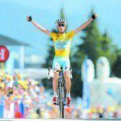 Nibali baute am Berg seine Führung aus