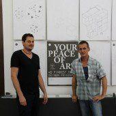 Sechsecke für Kunst und Frieden