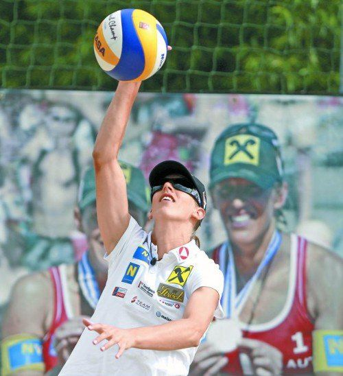 Stefanie Schwaiger probiert es mit Barbara Hansel. Foto: gepa