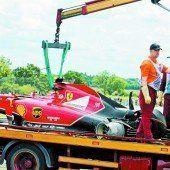 Räikkönen bei Horrorunfall im Glück