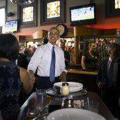 Familie aß sich auf Obamas Kosten satt