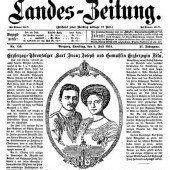 Neue Thronfolger: Karl Franz Joseph und Zita