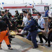20 Moskauer sterben bei schwerem Zugunglück