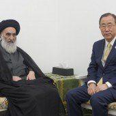 Irakischer Ajatollah will Konsens