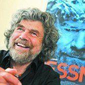 Reinhold Messner feiert 70er in den Dolomiten
