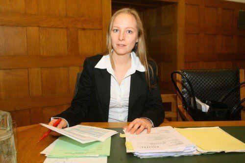 """Anwältin Olivia Lerch: """"Angeklagte ist ein Sonderfall.""""  Foto: VN/HB"""