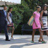 Ab in den Urlaub: Die Obamas machen Ferien
