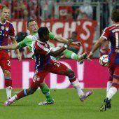 Perfekter Auftakt des FC Bayern München gegen Wolfsburg