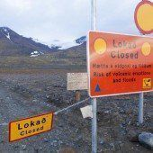 Island hebt Flugverbot um Vulkan vorerst auf