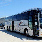Busunternehmer sehen ihre Branche in Gefahr