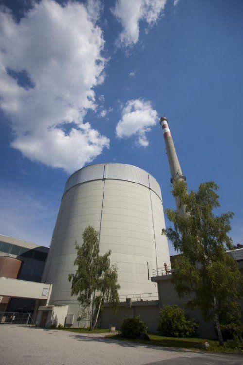 Das AKW Mühleberg ist seit 42 Jahren in Betrieb.  VN/Hartinger