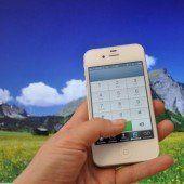 Sicher am Berg mit Handy als Lebensretter