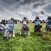 Motocross-Spektakel in Möggers