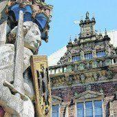 Rathaus Bremen und Roland