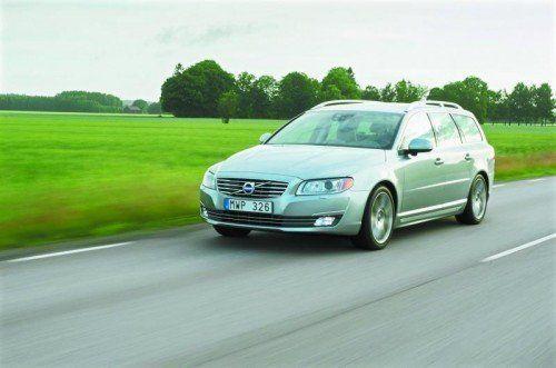 Den Altmeister V70 hält Volvo durch Updates auf stets aktuellem Stand, vor allem im Hinblick auf Sicherheit.